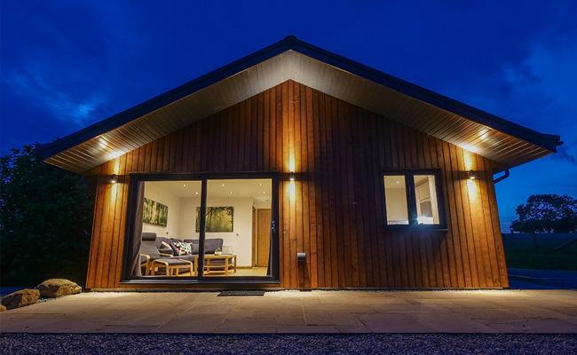 North Lodge at Night